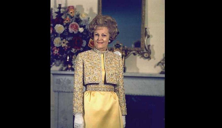Première dame du 20 janvier 1969 au 9 août 1974