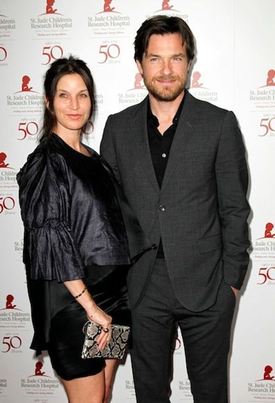 Jason Bateman et sa femme enceinte, Amanda Anka
