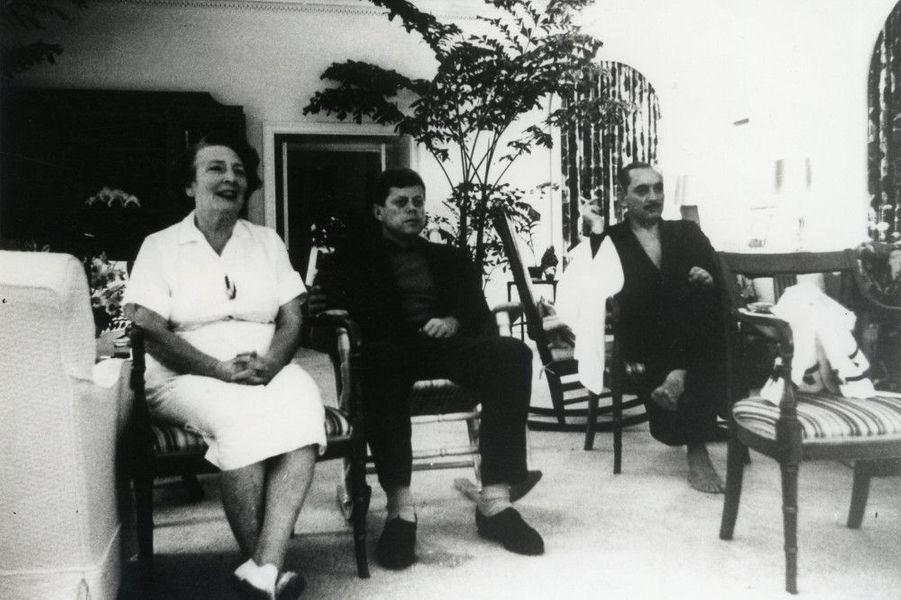 """JFK et Maud Shaw, """"la nounou de la Maison Blanche"""""""