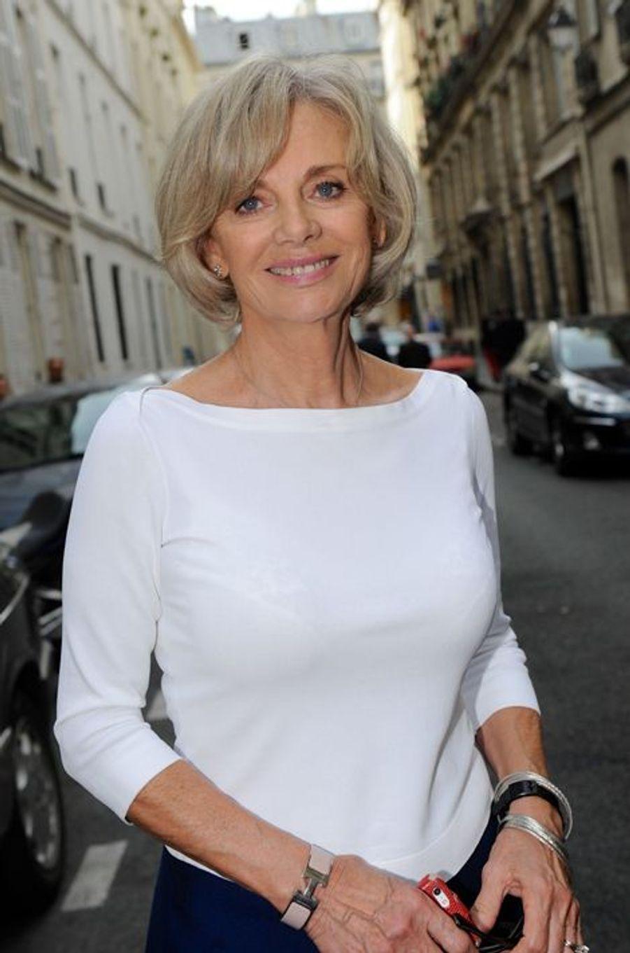 Elisabeth Gigou au Nouvel An juif de Marek Halter à Paris, le 28 septembre 2014
