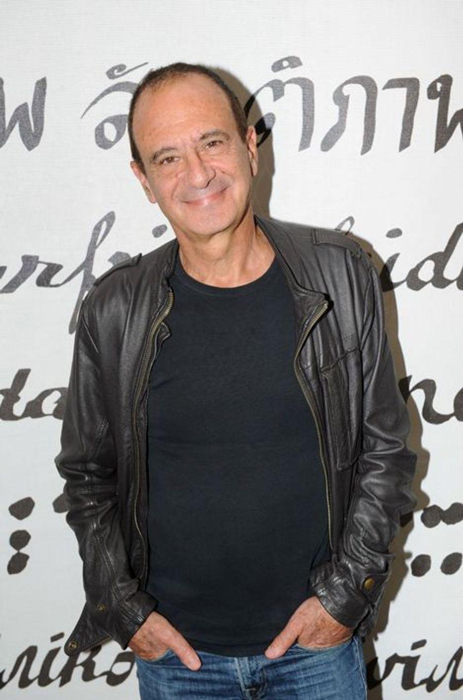 Gérard Miller au Nouvel An juif de Marek Halter à Paris, le 28 septembre 2014