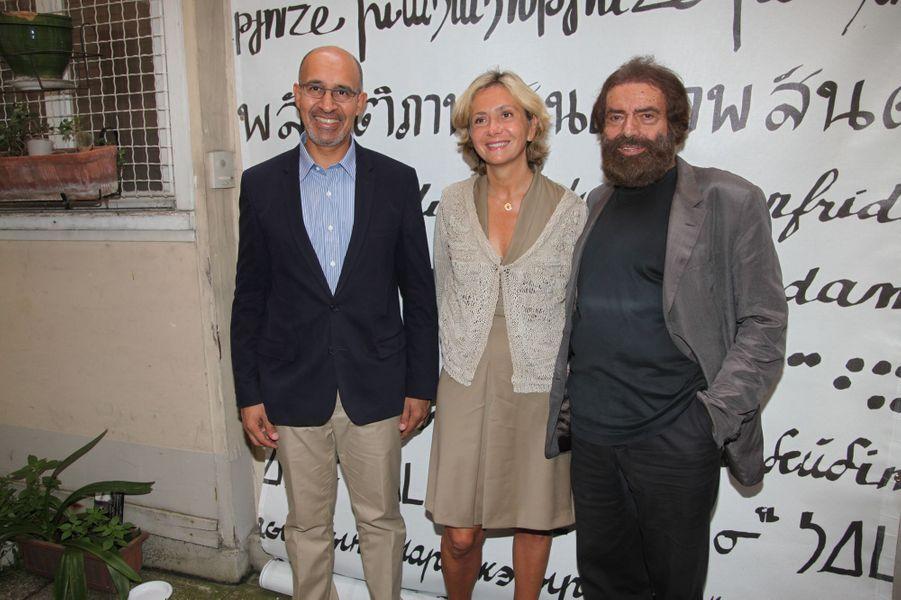 Harlem Désir, Valérie Pécresse et Marek Halter à Paris, le 28 septembre 2014
