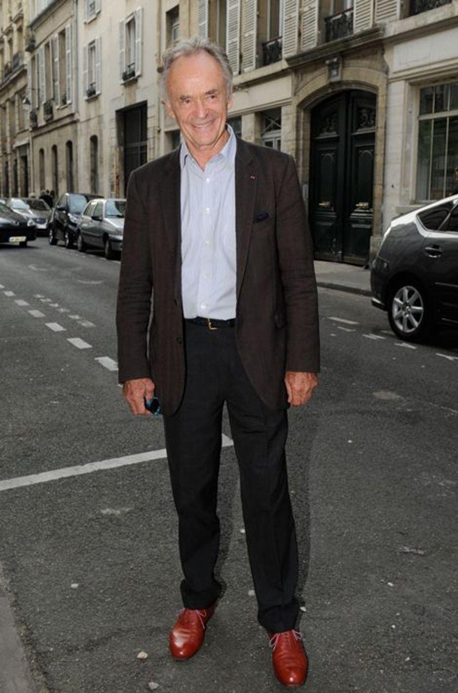 Jean-Claude Casadesus au Nouvel An juif de Marek Halter à Paris, le 28 septembre 2014