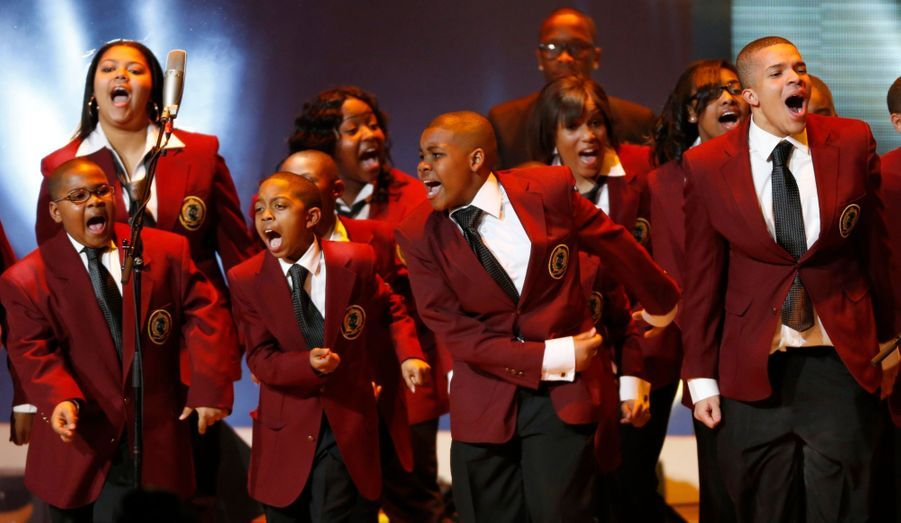 Les choristes du Soul Children of Chicago