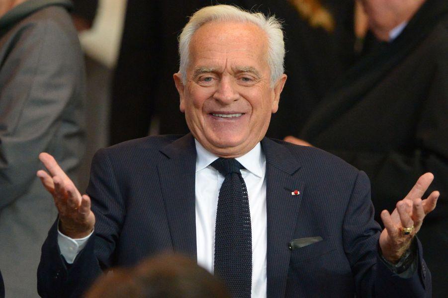 Philippe Labro au Parc des Princes à Paris, le 21 septembre 2014.