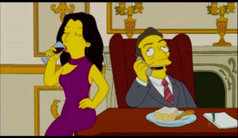 Après George Bush, Quentin Tarantino, ou encore Paris Hilton, le couple Sarkozy est apparu en guest star dans un épisode très réussi des «Simpson».