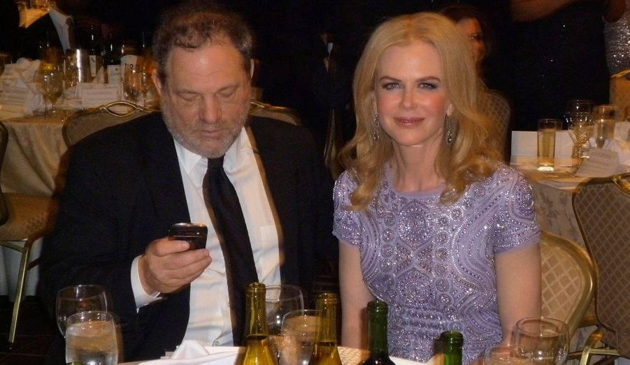 Harvey Weinstein et Nicole Kidman