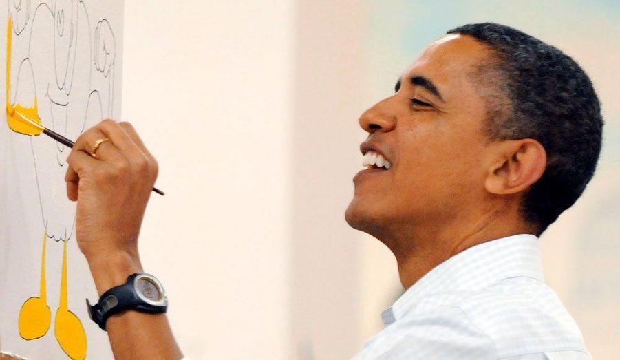 Obama, ce peintre