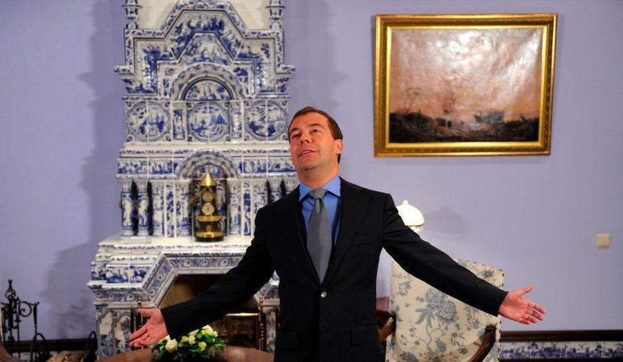 La mélodie du bonheur selon Medvedev