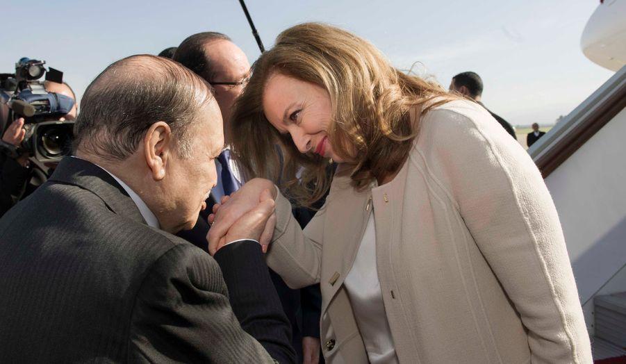 """Il s'agit de la première visite de la """"first Lady"""" en Algérie."""