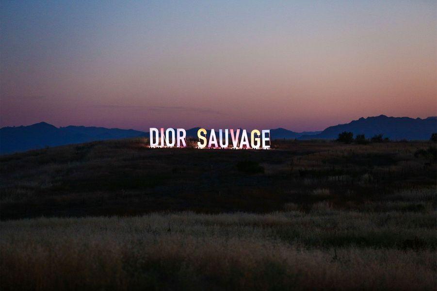 """Le """"défilé sauvage"""" de Dior."""