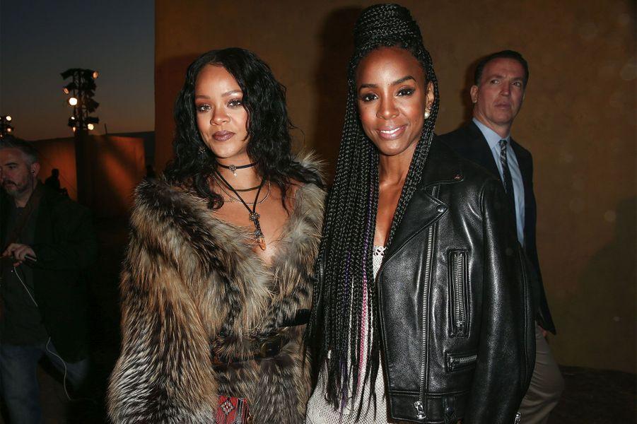 Rihanna et Kelly Rowland