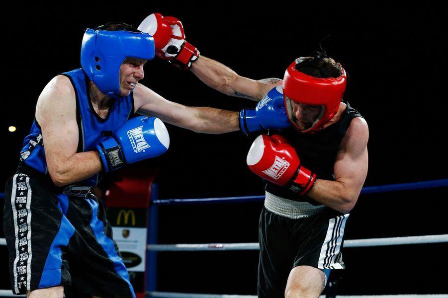 Combat entre «Papa Kasso» et Franck Barigault.