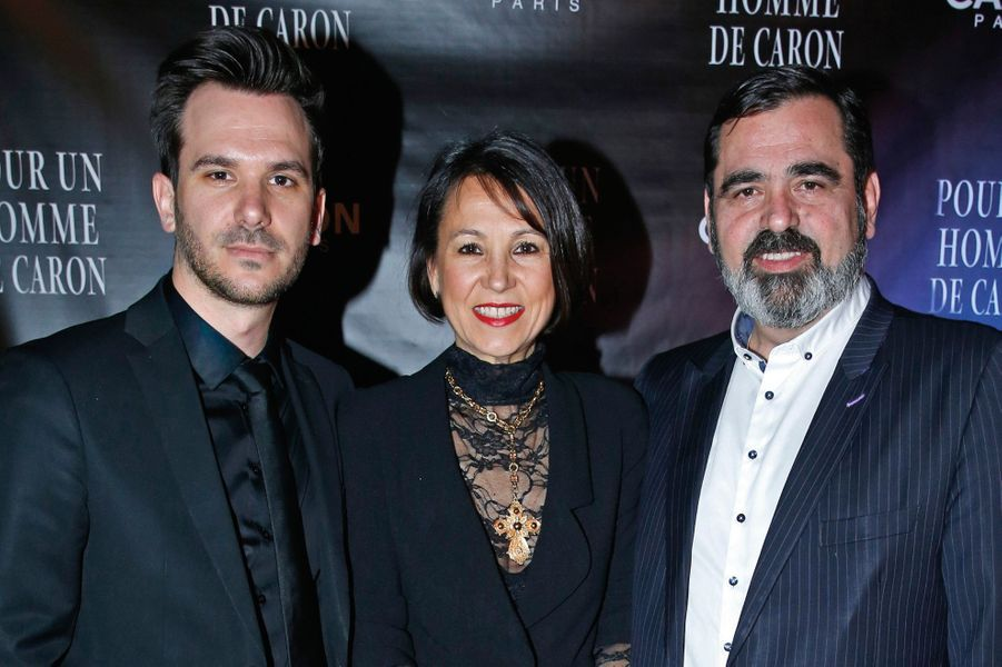 Yahn, Christelle et Romain Alès.