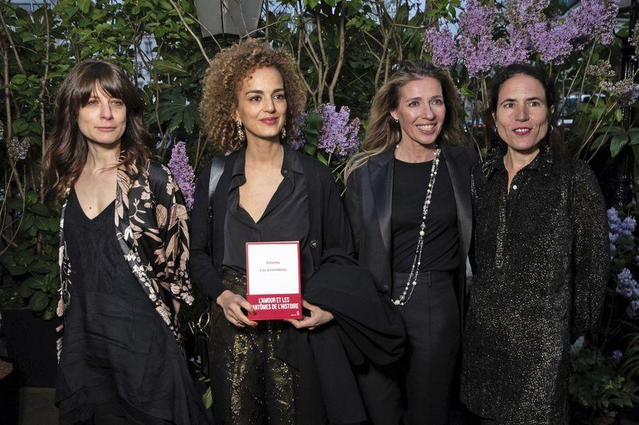 Sarah Chiche, Leïla Slimani, Carole Chrétiennot, Mazarine Pingeot.