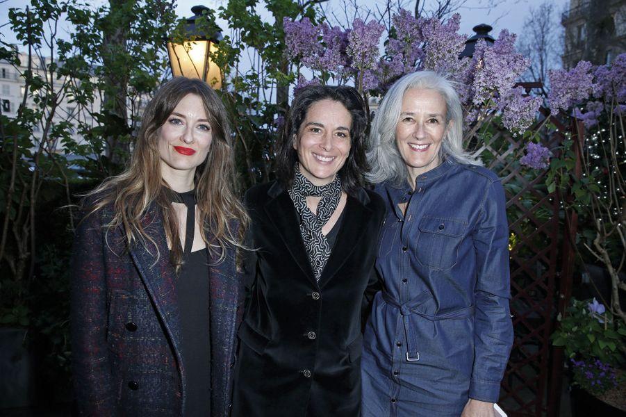 Diane Ducret, Stéphanie Janicot, Tatiana de Rosnay.