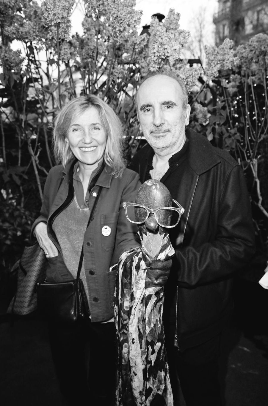 Sylvie Bourgeois et Philippe Harel.