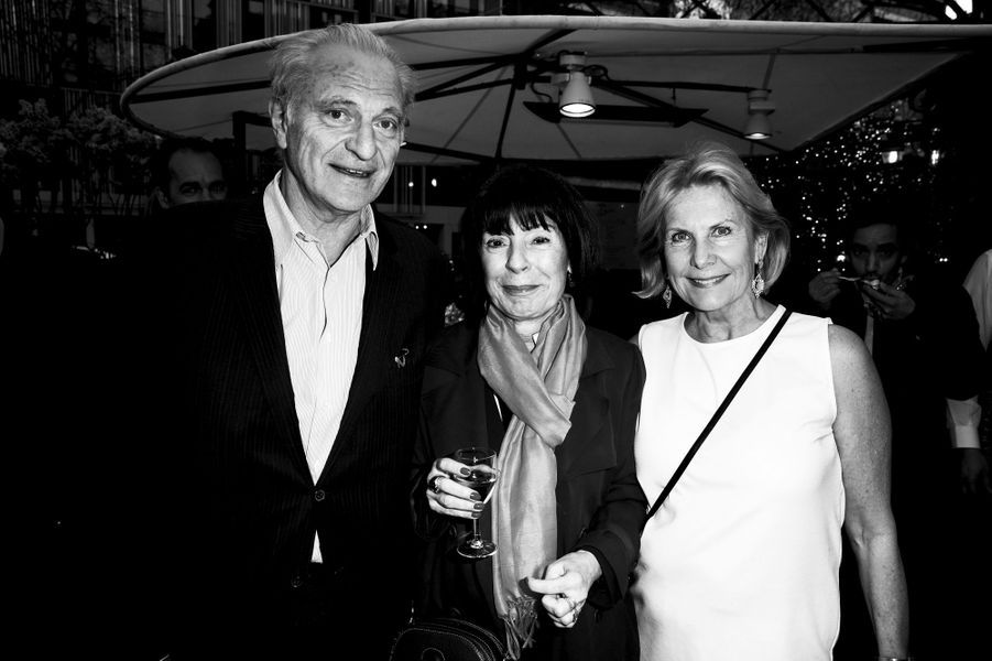 Alain Flammarion, Muriel Beyer, Suzanna Flammarion.
