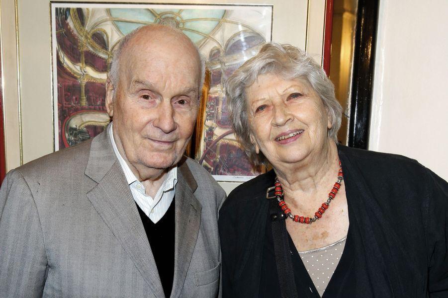 Michel Bouquet et Juliette Carré.