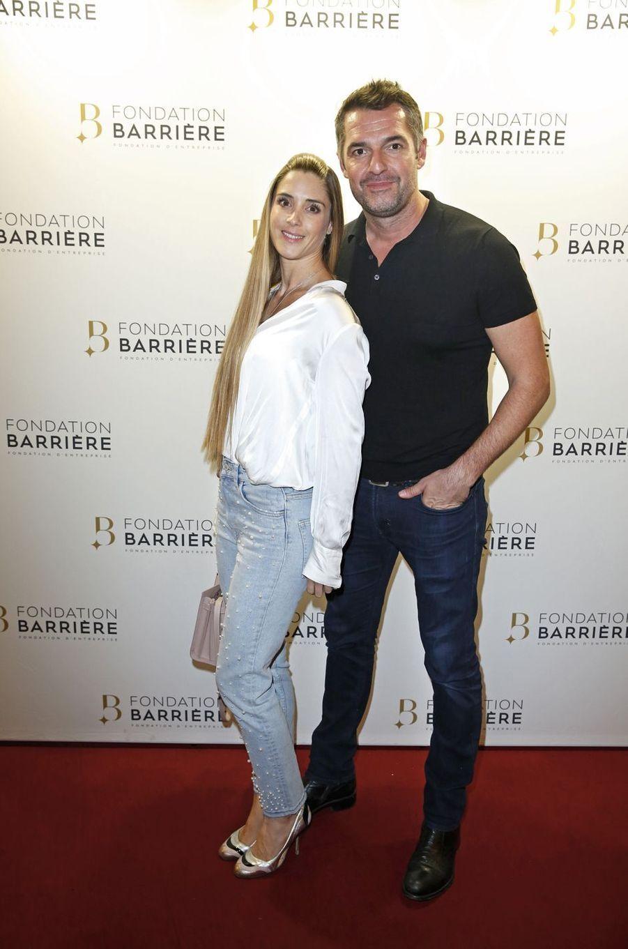 Claire Francisci et Arnaud Ducruet