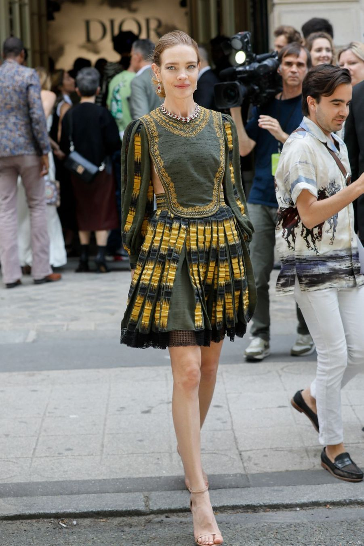 Natalia Vodianovaà Paris, le 1er juillet 2019
