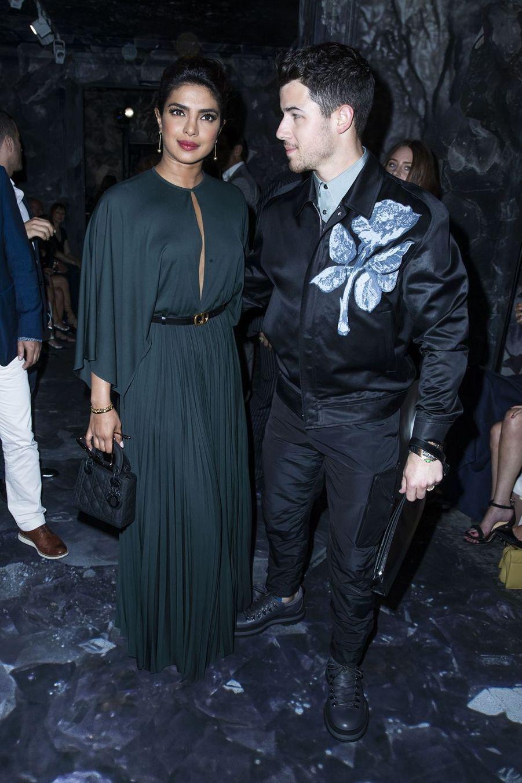 Priyanka Chopra et son mari Nick Jonas à Paris, le 1er juillet 2019