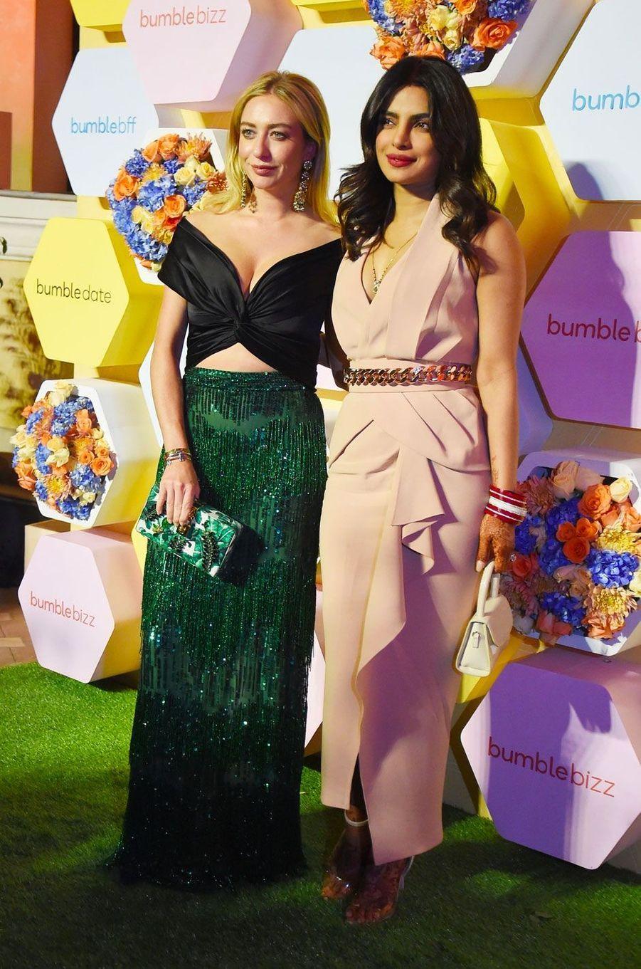 Priyanka Chopra et la PDG de Bumble