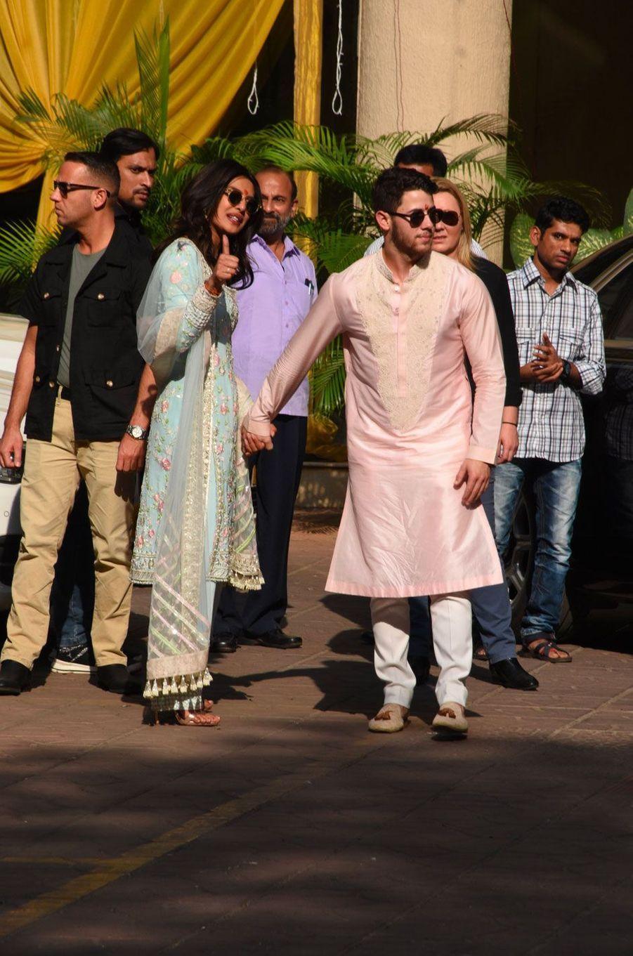 Priyanka Chopra et Nick Jonas