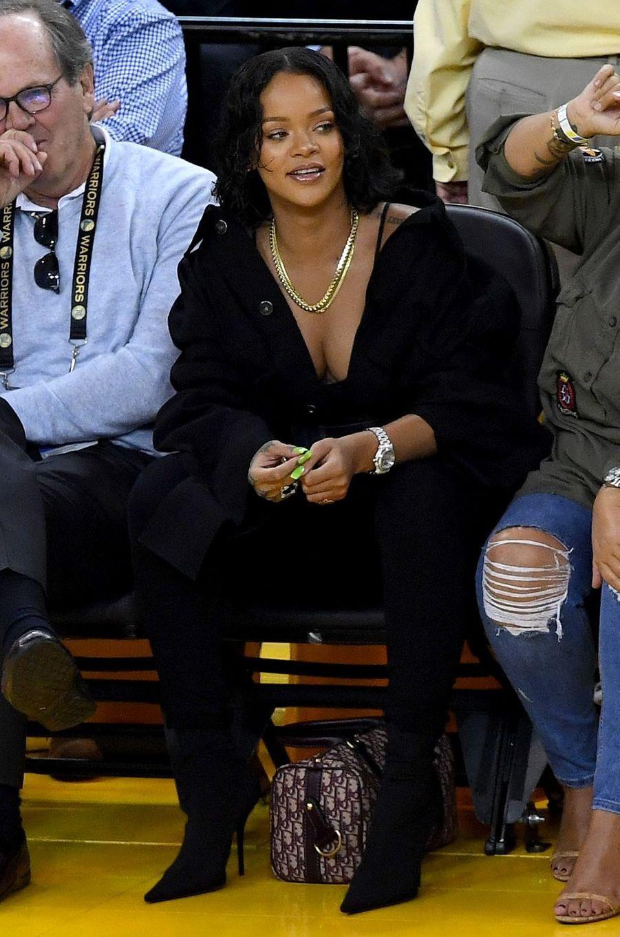 Rihanna àl'Oracle Arena d'Oakland, le 1er juin 2017.