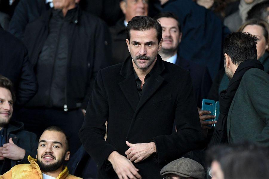 Grégory Fitoussilors du match PSG-OM au Parc des Princes le 27 octobre 2019