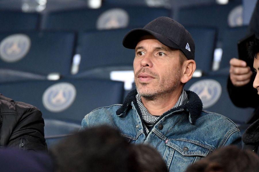 Medi Sadounlors du match PSG-OM au Parc des Princes le 27 octobre 2019