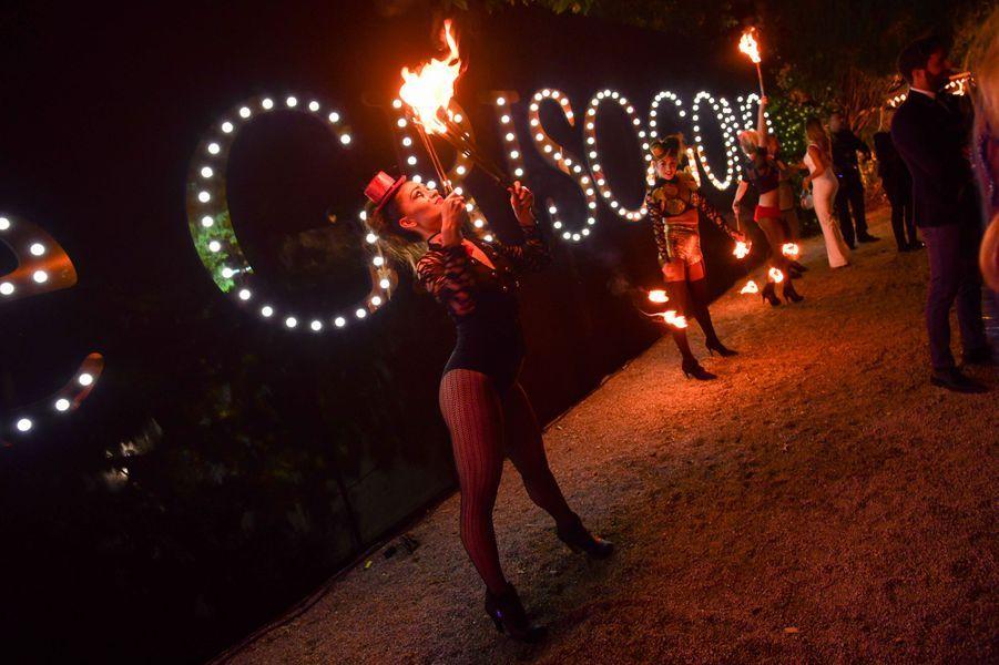 La soirée de Grisogono au Cap d'Antibes, le 15 mai 2018.