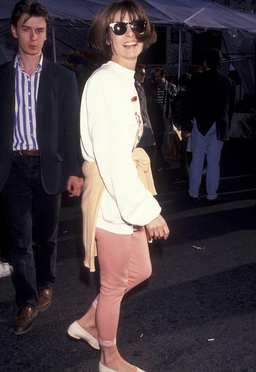 Anna Wintour à New York en avril 1993.