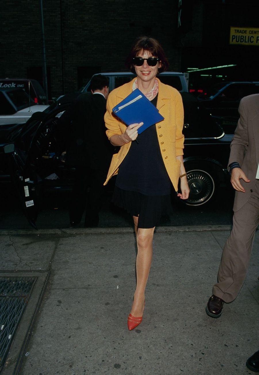 Anna Wintouren mars 1990 aux Etats-Unis.