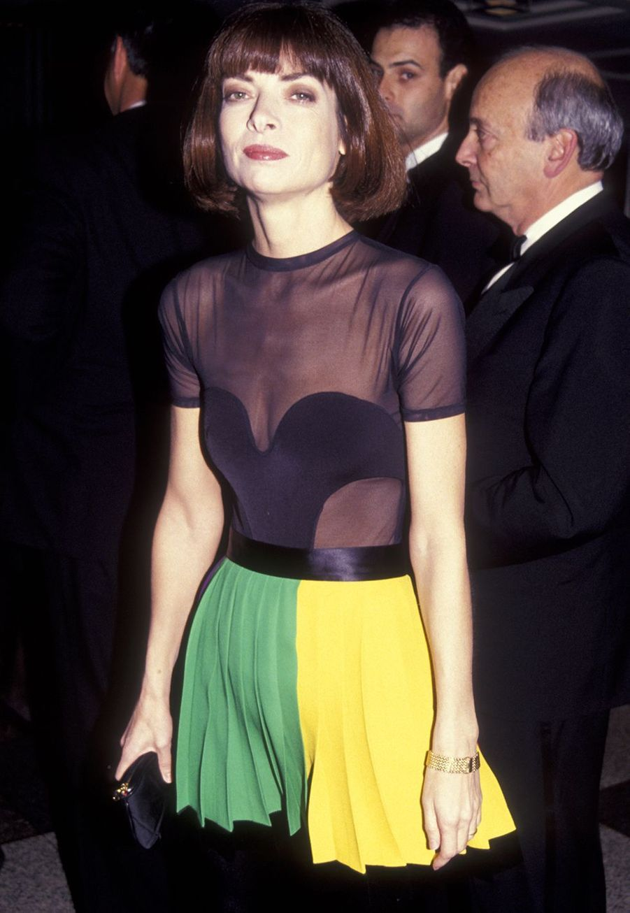 Anna Wintour aux 12ème Burden Awards à New York en décembre 1991.