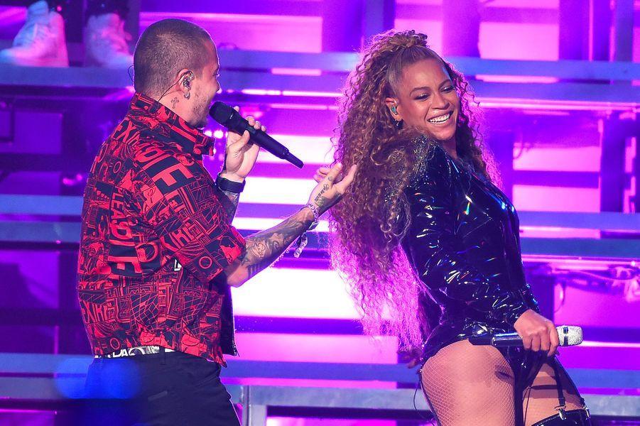 Beyoncé et J Balvin à Coachella