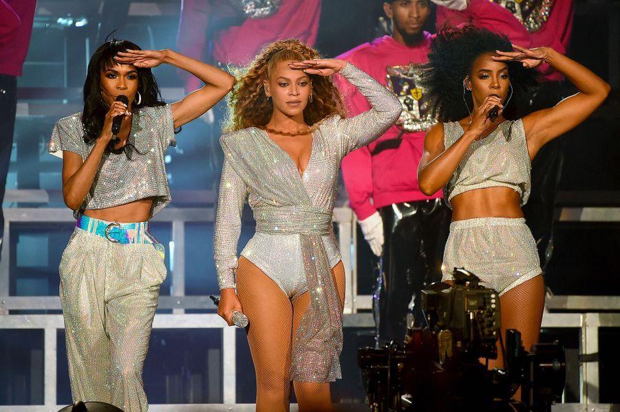 Beyoncé, Kelly Rowland et Michelle Williams à Coachella