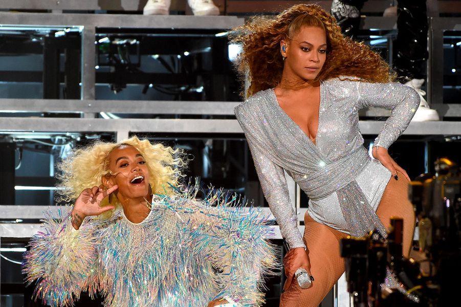 Beyoncé et Solange Knowles à Coachella