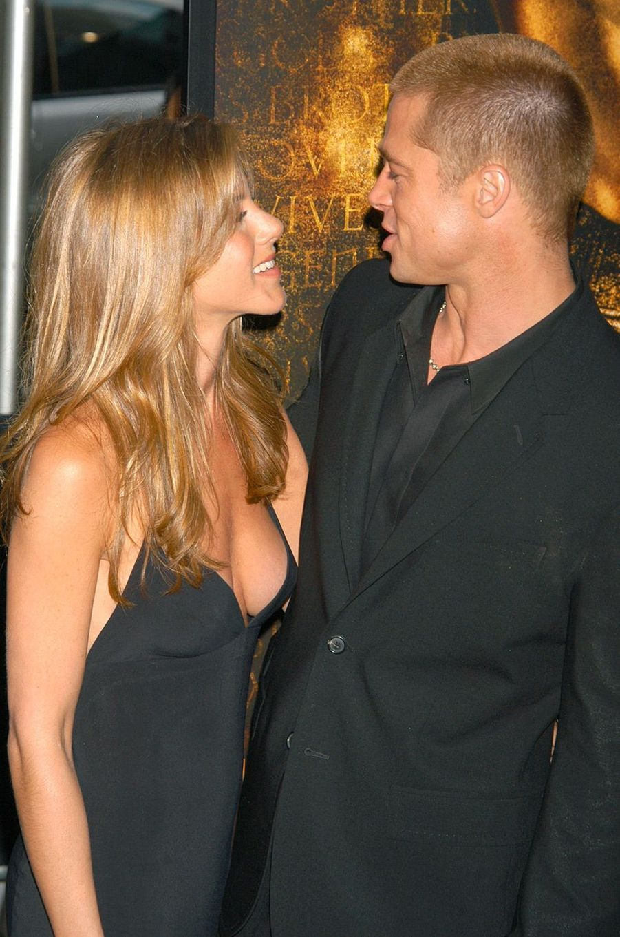 Brad Pitt et Jennifer Aniston en 2004
