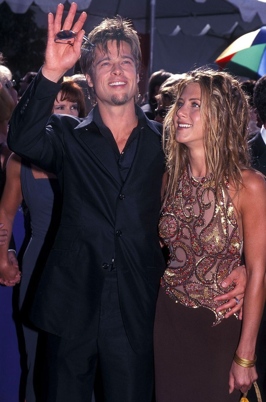 Brad Pitt et Jennifer Aniston en 1999