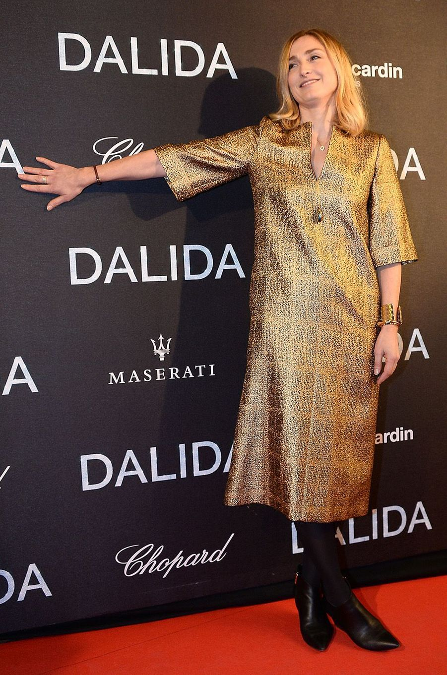 Julie Gayetà l'Olympia, le 30 novembre 2016.