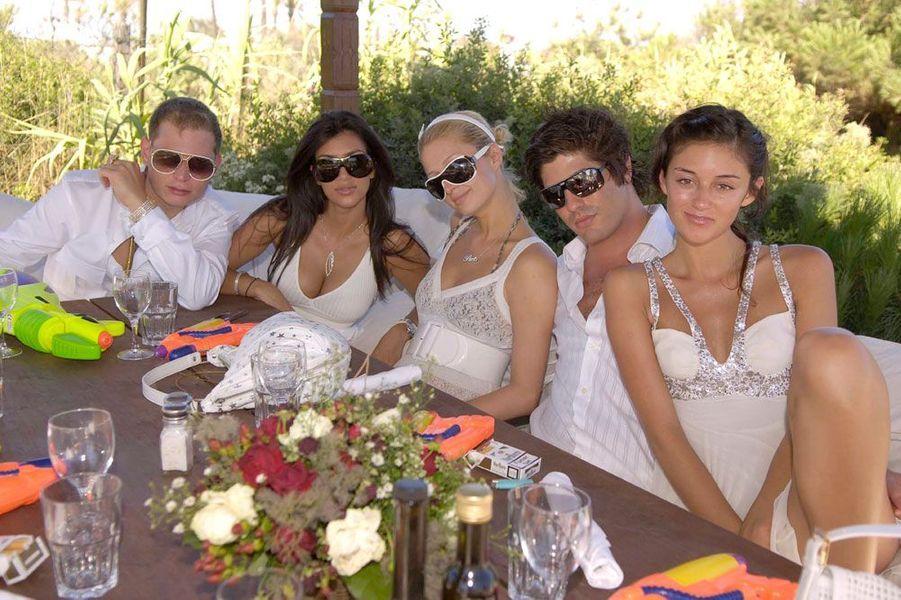 Paris Hilton et Kim Kardashian