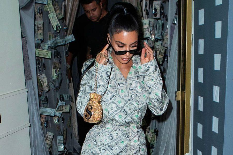 Kim Kardashian à Los Angeles le 27 septembre 2018