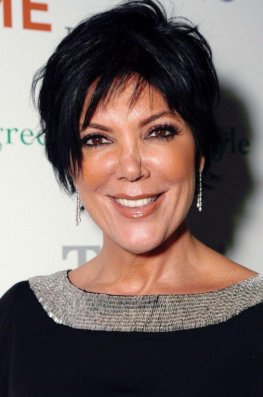 Kris Jennerà la première de l'émission «L'incroyable famille Kardashian» à West Hollywood en octobre 2007