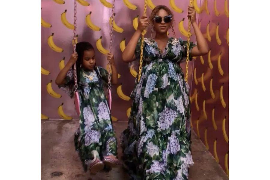 Beyoncé et sa fille Blue Ivy