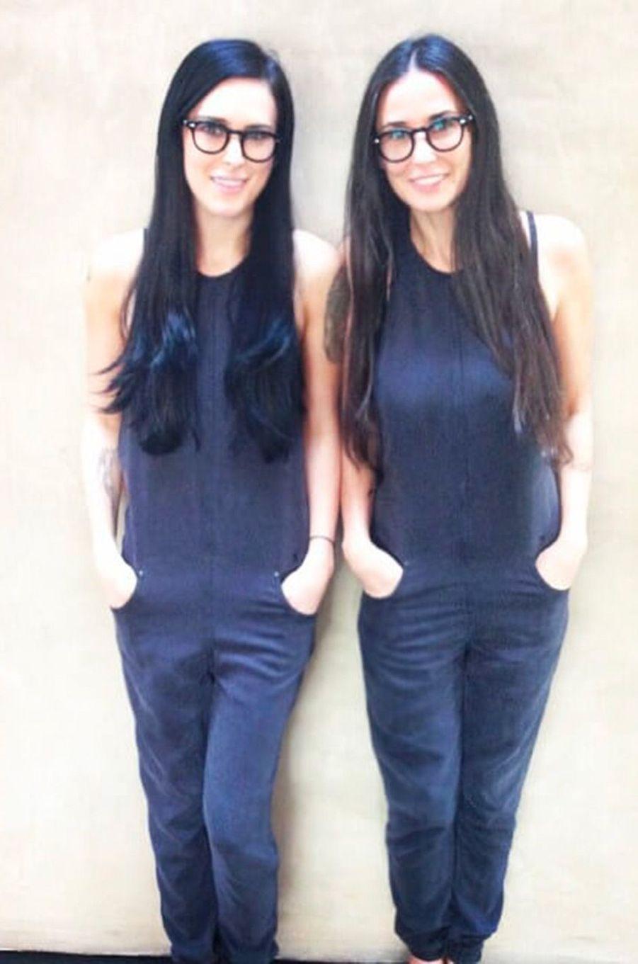 Demi Moore et sa fille Rumer Willis