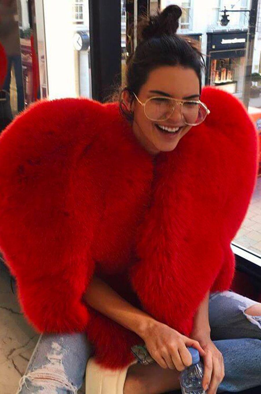 Kendall Jenner, le 6 octobre 2016