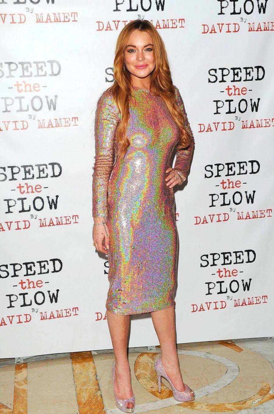 Lindsay Lohan, le 2 octobre 2014