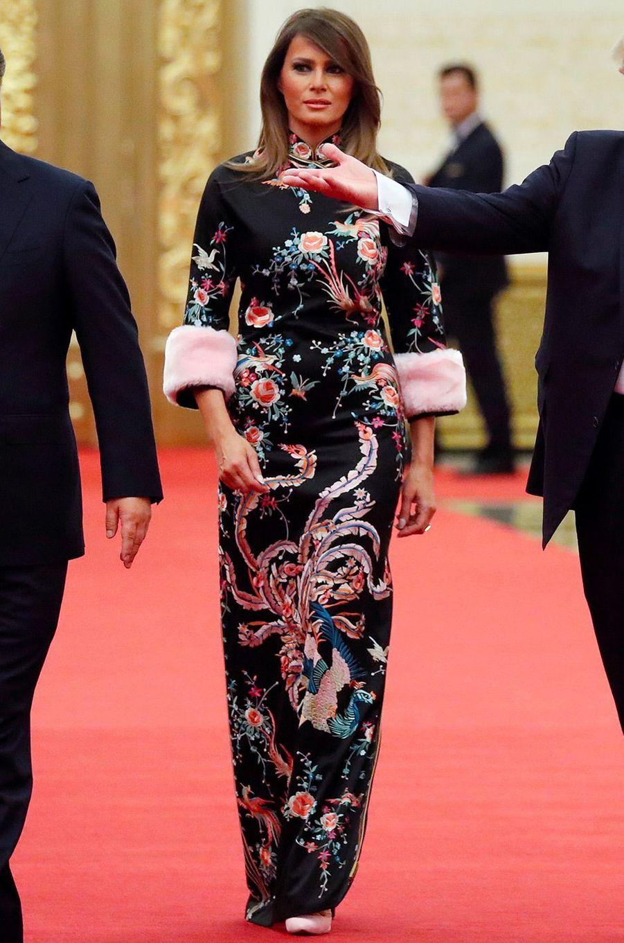Melania Trump, le 9 novembre 2017