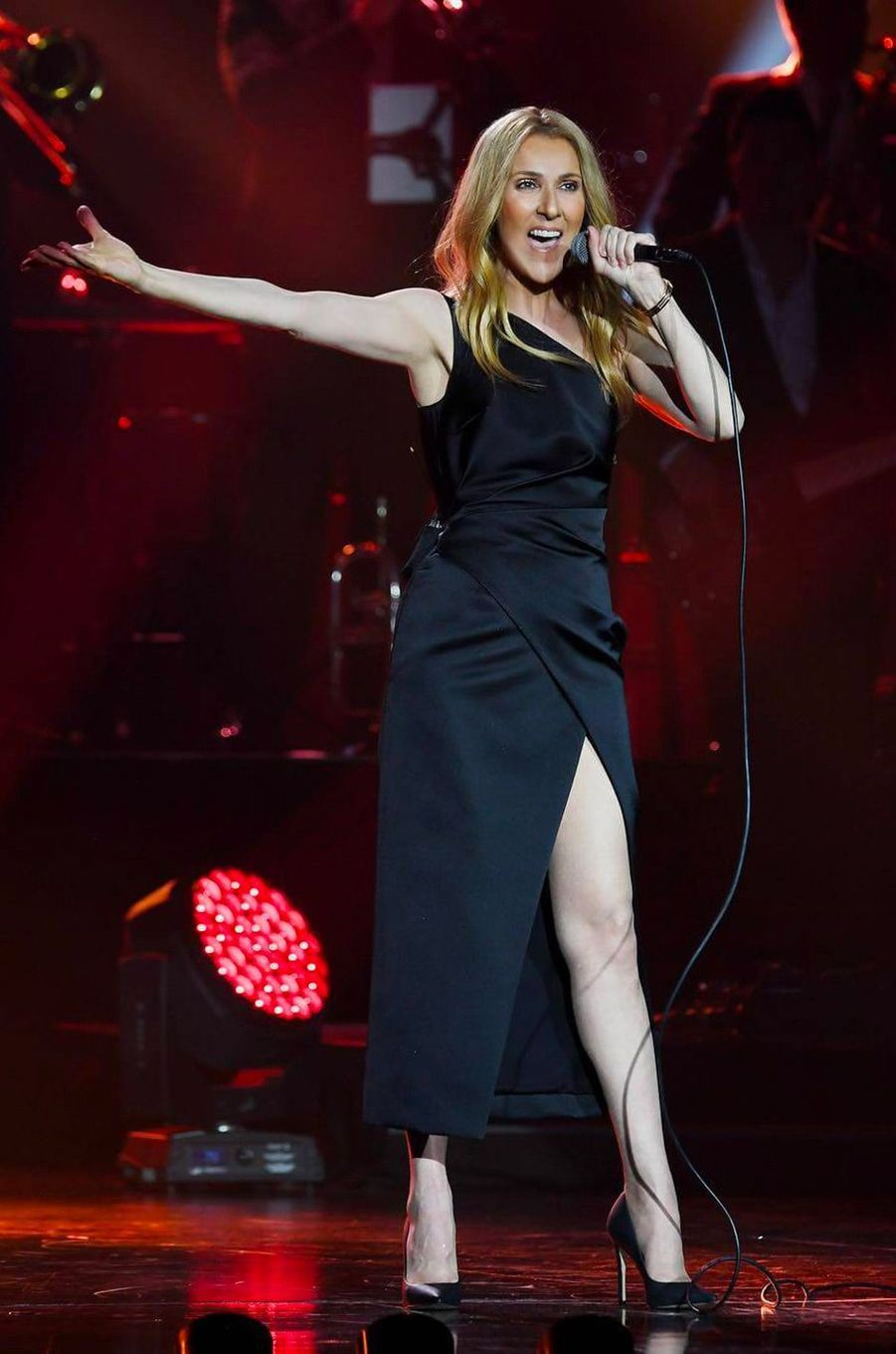 Céline Dion sur scène à Tokyo, mardi 26 juin